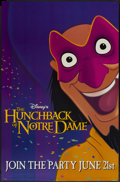 "Movie Posters:Animated, The Hunchback of Notre Dame (Buena Vista, 1996). Poster (29"" X 45"") Advance. Animated...."