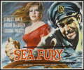 "Movie Posters:Adventure, Sea Fury (Rank, 1958). British Quad (30"" X 40""). Adventure...."