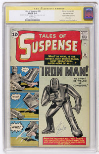 Tales of Suspense #39 Stan Lee File Copy - Signature Series (Marvel, 1963) CGC VG/FN 5.0 Off-white pages