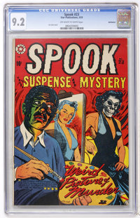 Spook #23 Bethlehem pedigree (Star Publications, 1953) CGC NM- 9.2 Off-white to white pages
