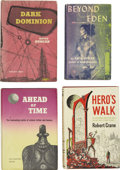 Books:First Editions, Four Ballantine Science-Fiction First Editions.... (Total: 4 Items)