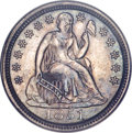 Seated Dimes, 1851 10C MS64 PCGS....