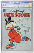 Golden Age (1938-1955):Cartoon Character, Uncle Scrooge #8 (Dell, 1954) CGC NM 9.4 Off-white pages....