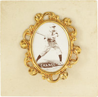 1915 PM1 Ornate Frame Pins Frank Chance. The 1913 season saw big changes for the New York Americans, who traded their &q...