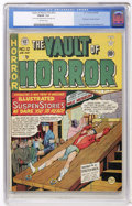 Golden Age (1938-1955):Horror, Vault of Horror #12 (EC, 1950) CGC FN/VF 7.0 Off-white pages....