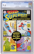 Silver Age (1956-1969):Superhero, Superman Annual #4 (DC, 1961) CGC NM+ 9.6 Off-white pages....