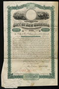 Miscellaneous:Other, City of New Orleans $1000 Bond 1880.. ...