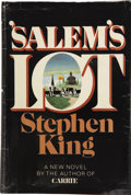 Books:First Editions, Stephen King. 'Salem's Lot. Garden City, New York: Doubledayand Company, Inc., 1975....