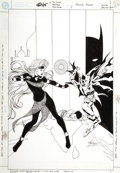 Original Comic Art:Covers, Matt Haley and Kevin Nowlan - Batgirl Annual #1 Cover Original Art(DC, 2000)....