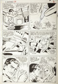 Original Comic Art:Panel Pages, Don Heck and Vince Colletta - Tales of Suspense #69, Iron Man page2 Original Art (Marvel, 1965)....