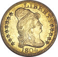 Early Half Eagles, 1804 $5 Small 8 MS63 NGC....