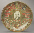 Political:3D & Other Display (1896-present), William Jennings Bryan: Cigar Band Art Ashtray....
