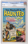 Golden Age (1938-1955):Horror, This Magazine Is Haunted #8 Crowley Copy (Fawcett, 1952) CGC NM+9.6 Off-white pages....