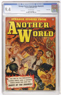 Golden Age (1938-1955):Horror, Strange Stories from Another World #5 Crowley Copy (Fawcett, 1953)CGC NM 9.4 Off-white pages....