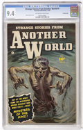 Golden Age (1938-1955):Horror, Strange Stories from Another World #4 Crowley Copy (Fawcett, 1952)CGC NM 9.4 Off-white to white pages....