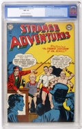 Golden Age (1938-1955):Science Fiction, Strange Adventures #15 (DC, 1951) CGC NM 9.4 Off-white to whitepages....