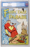 Golden Age (1938-1955):Funny Animal, Fairy Tale Parade #1 (Dell, 1942) CGC NM- 9.2 Cream to off-whitepages....
