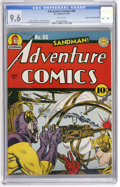 Golden Age (1938-1955):Superhero, Adventure Comics #86 Mile High pedigree (DC, 1943) CGC NM+ 9.6 White pages....
