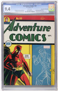 Golden Age (1938-1955):Superhero, Adventure Comics #66 Mile High pedigree (DC, 1941) CGC NM 9.4 White pages....