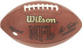 Football Collectibles:Uniforms, 2005 Seattle Seahawks Game Used Football. From a regular season game played by the top-seed in the NFC for the 2005 season ...