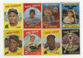 Baseball Cards:Lots, 1959 Topps Baseball Collection (1400+).Offered is a collection of1400+ cards of 1959 Topps baseball that includes #'s 20 Sn...