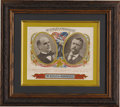 "Political:Small Paper (1896-present), McKinley & Roosevelt: Jugate ""Smoke McKinley & Roosevelt Cigars"" Cigar Label...."