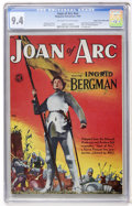 Golden Age (1938-1955):Non-Fiction, Joan of Arc #nn Mile High pedigree (Magazine Enterprises, 1949) CGCNM 9.4 Off-white to white pages....