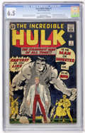 Silver Age (1956-1969):Superhero, The Incredible Hulk #1 (Marvel, 1962) CGC FN+ 6.5 Cream to off-white pages....