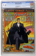 "Golden Age (1938-1955):Classics Illustrated, Classic Comics #3 Count of Monte Cristo - First Edition - DavisCrippen (""D"" Copy) pedigree (Elliott Publications, 1942) CGC F..."