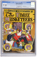 Golden Age (1938-1955):Classics Illustrated, Classic Comics #1 The Three Musketeers - First Edition (ElliottPublications, 1941) CGC FN/VF 7.0 Cream to off-white pages....
