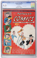 Platinum Age (1897-1937):Miscellaneous, Popular Comics #2 (Dell, 1936) CGC VG 4.0 White pages....