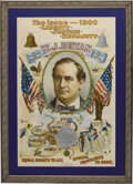 "Political:Posters & Broadsides (1896-present), William Jennings Bryan: Legendary ""Octopus Poster"" From the 1900 Campaign. ..."