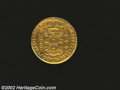 Brazil: , Brazil: Maria I and Pedro III Gold 2,000 Reis 1778, KM209, VF withtrace of a mount at the top.. Ex: Schulman 1971, lot 203. From...