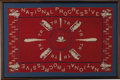 Political:Textile Display (1896-present), Theodore Roosevelt: Mint Silk Handkerchief From His 1912 Bull MooseCampaign. ...