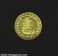 Colombia: , Colombia: Carlos III Gold Escudo 1767PN-J, KM35, Choice XF-AU,extremely lustrous, a very attractive example.. Ex: PonterioFebruary...