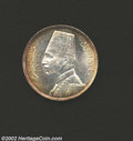 Egypt: , Egypt: Fuad 20 Piastres 1933, KM352, Brilliant UNC, lightperipheral toning, typical surface marks. ...