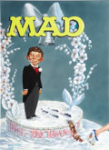 "Original Comic Art:Covers, Kelly Freas - Mad #40 ""Wedding Cake"" Recreation Cover Original Art(undated).. ..."