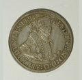 Austria: , Austria: Archduke Ferdinand Taler ND Hall (1564-1595), Davenport8097, XF, very attractive with glossy gray and gold patina....