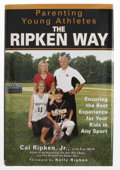 Autographs:Others, Cal Ripken, Jr. Signed Book. Well-respected among his ballplayingpeers, Cal Ripken, Jr. is one of the most looked-up to at...