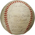 Autographs:Baseballs, 1960 New York Yankees Team Signed Baseball. Mazeroski's historic blast ended the fun for this American League Championship ...