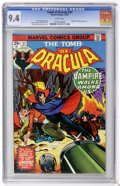 Bronze Age (1970-1979):Horror, Tomb of Dracula #37 (Marvel, 1975) CGC NM 9.4 White pages....