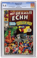 Silver Age (1956-1969):Humor, Not Brand Echh #5 (Marvel, 1967) CGC NM 9.4 White pages....