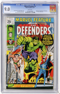 Marvel Feature #1 (Marvel, 1971) CGC VF/NM 9.0 White pages