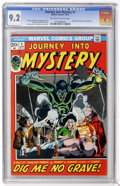 Bronze Age (1970-1979):Horror, Journey Into Mystery #1 (Marvel, 1972) CGC NM- 9.2 Off-white towhite pages....