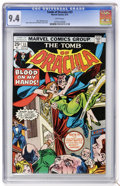 Bronze Age (1970-1979):Horror, Tomb of Dracula #33 (Marvel, 1975) CGC NM 9.4 White pages....
