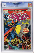 Bronze Age (1970-1979):Horror, Tomb of Dracula #28 (Marvel, 1975) CGC NM 9.4 White pages....