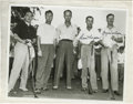 Golf Collectibles:Autographs, Ben Hogan and Byron Nelson Signed Typed Letters Lot of 3 withSigned Photograph. Two of pro golf's perennial masters are re...