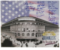 "Baseball Collectibles:Others, Brooklyn Dodgers Greats Multi-Signed Print. Beautiful 16x20"" printpays homage to the Brooklyn Dodgers and the hallowed gro..."