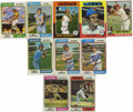 Autographs:Sports Cards, 1974-76 Topps Baseball Signed Cards Group Lot of 64. Tremendous assortment of signed cards that we see here come from mid-1...