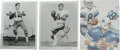 Football Collectibles:Others, Dallas Cowboys Quarterbacks Signed Prints Lot of 3. Three men who have held the high profile job of the starting quarterbac... (Total: 3 )